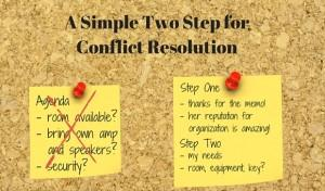 Two-Step-Conflict-Resolution