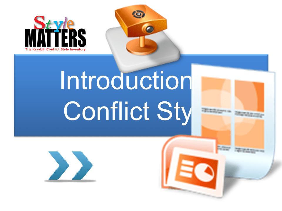 intro to conflict styles in powerpoint